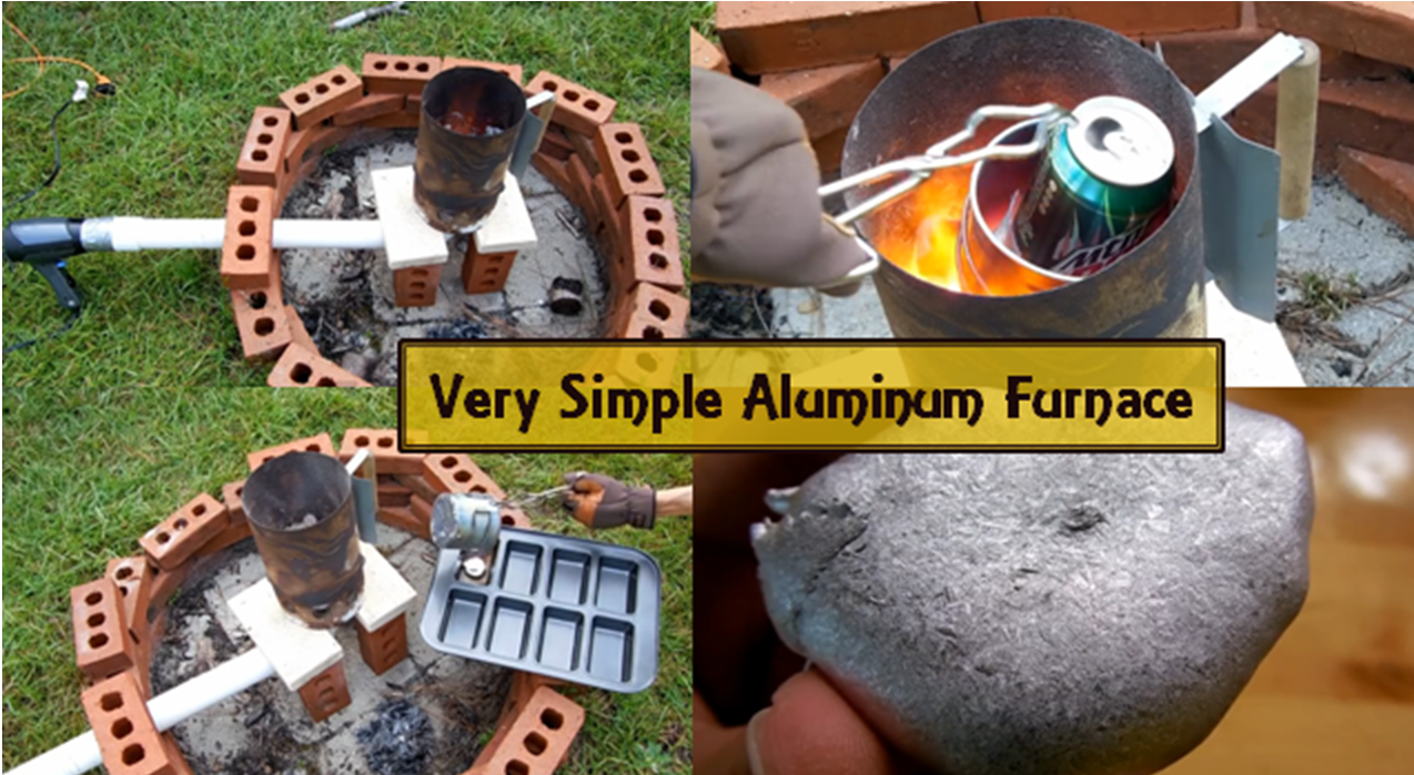 how to make an aluminum furnace