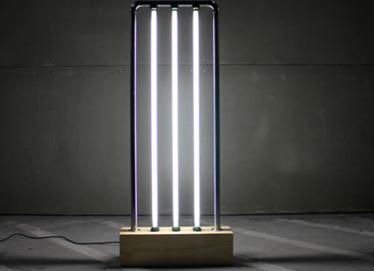 timeless design 64628 f9640 How To Make A Fluorescent Tube Floor Lamp For Your Lighting ...