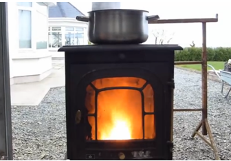 how to make an oil heater