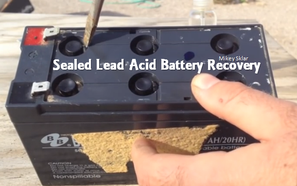 how to build a lead acid battery