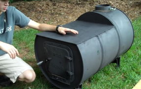 Video Build Your Own Wood Stove With A Cook Top From A ...