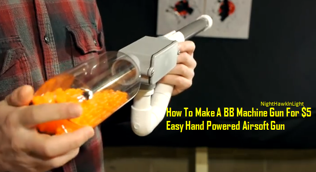 how to build an easy airsoft gun