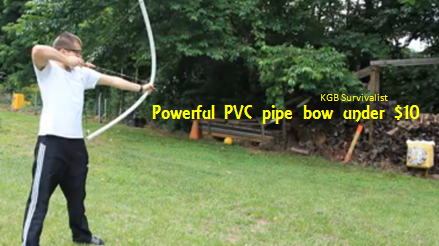 how to make a pvc bow without heat