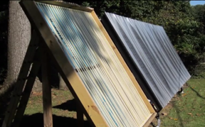 Video use simple cheap cpvc pipes to build a solar for Cpvc hot water