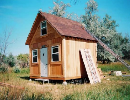 Video build your very own 14 x 14 solar cabin for under for 14x14 cabin plans
