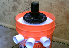 Video Diy Awesome Air Conditioner From A Five Gallon