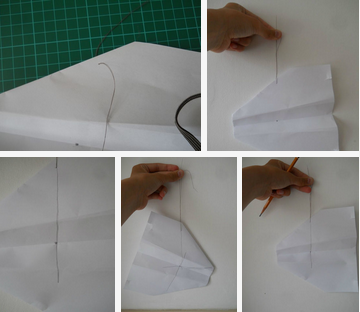 how to make a remote control plane with paper