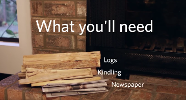 Video A Beginners Guide To Igniting A Lasting Fireplace Flame.
