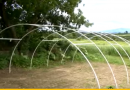 [Video] Building A Greenhouse – Constructing The PVC Frame.