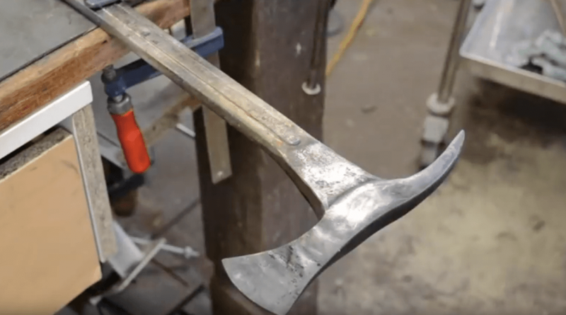 forging_a_tomahawk_from_a_wrench