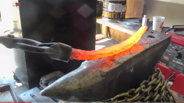 Forging_a_Knife_From_Cable1