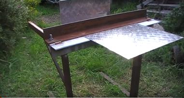 Homemade_Bending_Tool_sheet_metal_brake1
